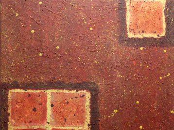 DURCHBLICK - Acryl u. Spachtel 70 X 90 cm