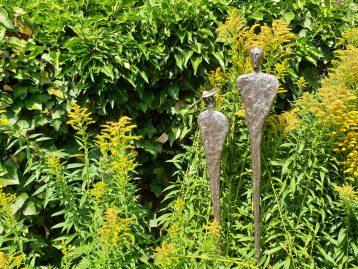 """Skulptur – """"LADY MIT FREUND"""""""