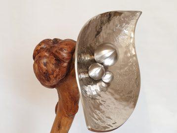 "Skulptur – ""KNOTENPUNKTE"""