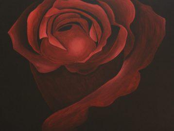 BACCARA - Acrylfarben 80 x 80 cm ( verkauft )