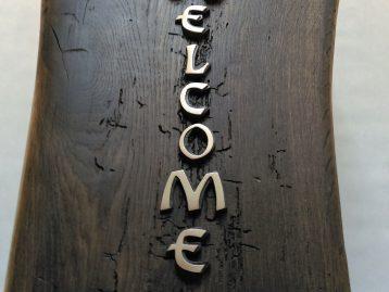 """Skulptur – """"WELCOME"""""""