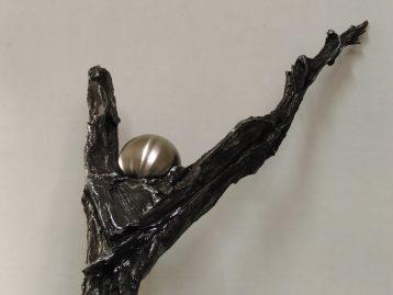 """Skulptur – """"SIEGER"""" (verkauft)"""