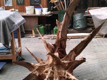 "Skulptur – ""STERNSCHNUPPE"" (verkauft)"