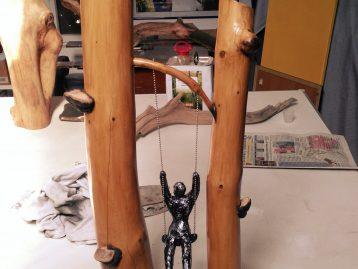 "Skulptur – ""STAMMESBRUDER"""