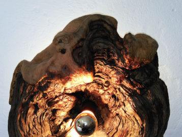 """Skulptur – """"DIE LEUCHTENDE PERLE"""""""