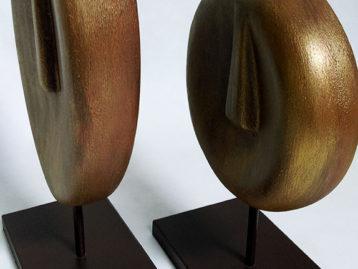 """Skulptur – """"BRUDER UND SCHWESTER"""" (verkauft)"""