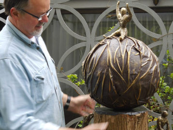 "Skulptur – ""LEBENSBEWÄLTIGUNG"" (verkauft)"