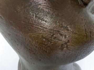 """Skulptur – """"DIE NACHDENKLICHE"""" (verkauft)"""