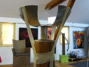 "Skulptur – ""LICHTBLUME"" (verkauft)"