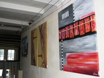 Ausstellung in der höchstgelegenen Stadt in NRW, (Nähe Kahler Asten)